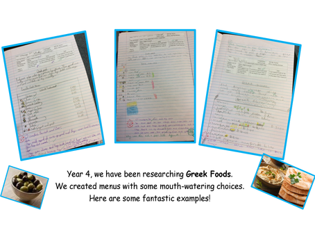 What we have been up to - Greek Foods