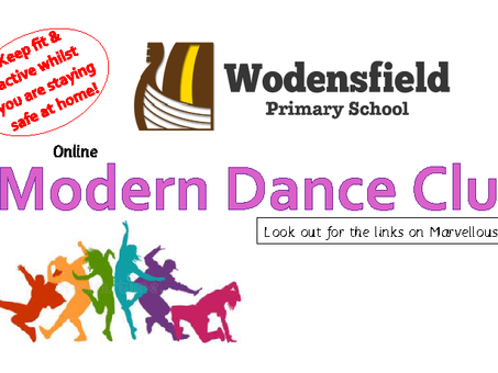 Online Modern Dance Club