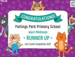 Fallings Park Primary School's Y6 children used Microsoft Forms to complete work around the Census
