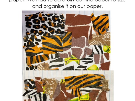Animal Print Collages