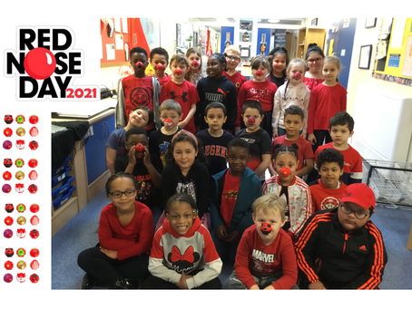 Red Nose Day - Class 2IB
