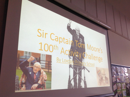 Activity Challenge for Sir Captain Tom Moore