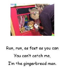 Autumn 2 - Will You Read Me a Story? The Gingerbread Man