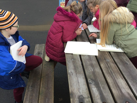 OUTDOOR MATHS IN YEAR 4