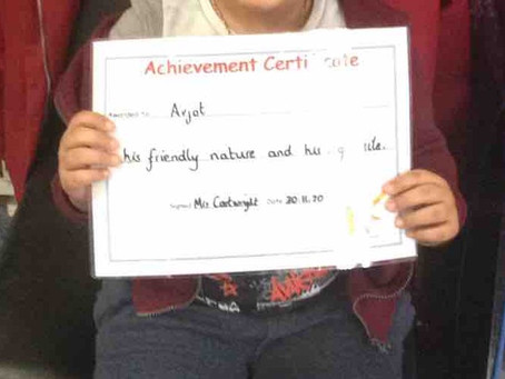 Nursery Achievement Award