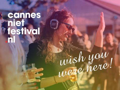 CANNES NIET FESTIVAL