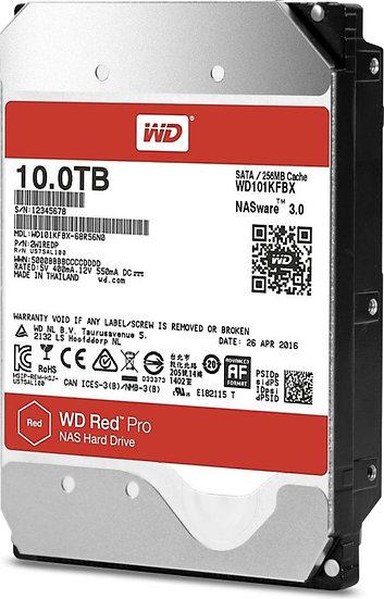 Western Digital WD Red Pro 10TB, SATA 6Gb/s (WD102KFBX)