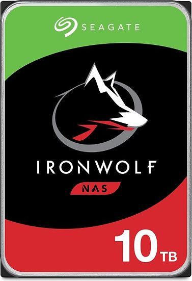 Seagate IronWolf NAS HDD 10TB, SATA 6Gb/s (ST10000VN0008)
