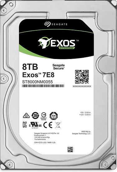 Seagate Exos E 7E8 8TB, 512e, SATA 6Gb/s (ST8000NM0055)