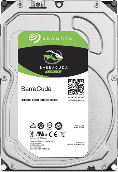 "Seagate BarraCuda Compute 8TB, 3.5"", SATA 6Gb/s (ST8000DM004)"