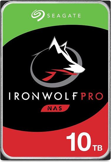 Seagate IronWolf Pro NAS HDD +Rescue 10TB, SATA 6Gb/s (ST10000NE0008)