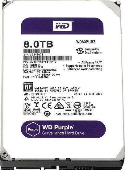 Western Digital WD Purple 8TB, SATA 6Gb/s (WD82PURZ)