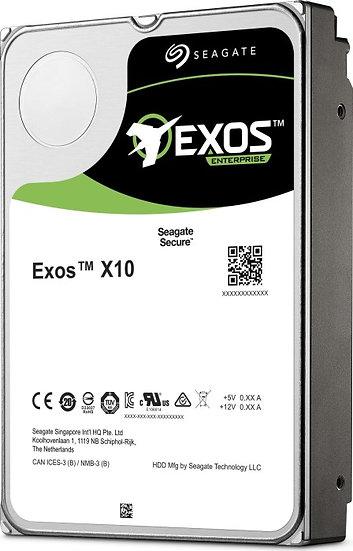 Seagate Exos X X10 10TB, 512e, SATA 6Gb/s (ST10000NM0016)