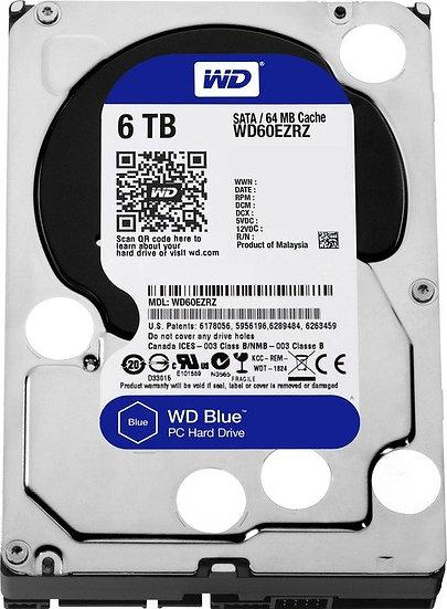 Western Digital WD Blue 6TB, SATA 6Gb/s (WD60EZAZ)