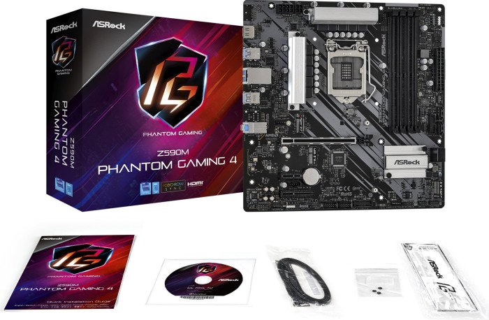 ASRock Z590M Phantom Gaming 4 (90-MXBFB0-A0UAYZ)