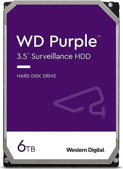 Western Digital WD Purple 6TB, SATA 6Gb/s (WD62PURZ)