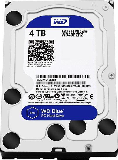 Western Digital WD Blue 4TB, SATA 6Gb/s (WD40EZRZ)