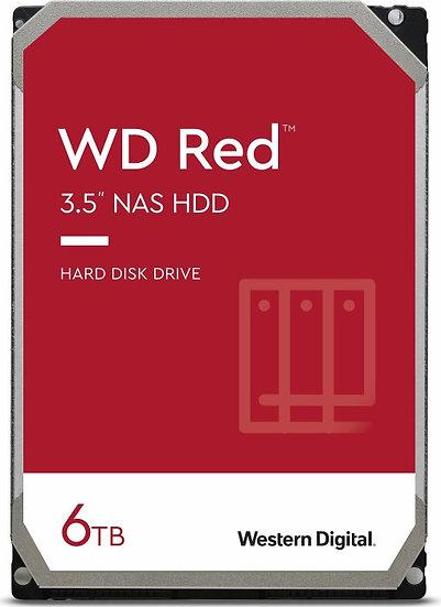 Western Digital WD Red 6TB, SATA 6Gb/s (WD60EFAX)
