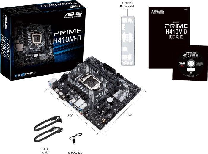 ASUS Prime H410M-D (90MB13U0-M0EAY0)
