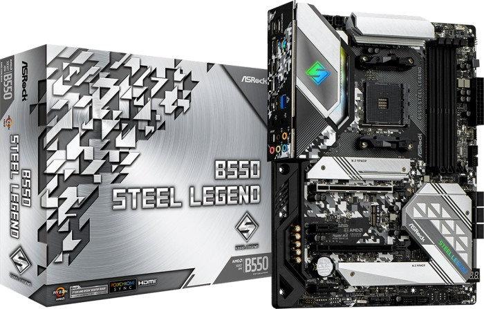 ASRock B550 Steel Legend (90-MXBDF0-A0UAYZ)