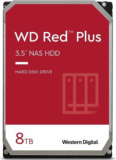 Western Digital WD Red Plus 8TB, SATA 6Gb/s (WD80EFAX)