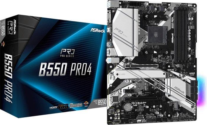 ASRock B550 Pro4 (90-MXBCZ0-A0UAYZ)