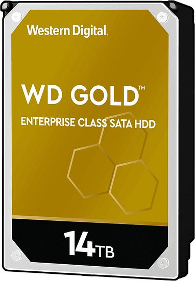 Western Digital WD Gold 14TB, 512e, SATA 6Gb/s (WD141KRYZ)