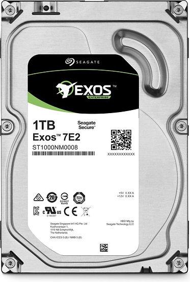 Seagate Exos E 7E2 1TB, 128MB, 512n, SATA 6Gb/s (ST1000NM0008)