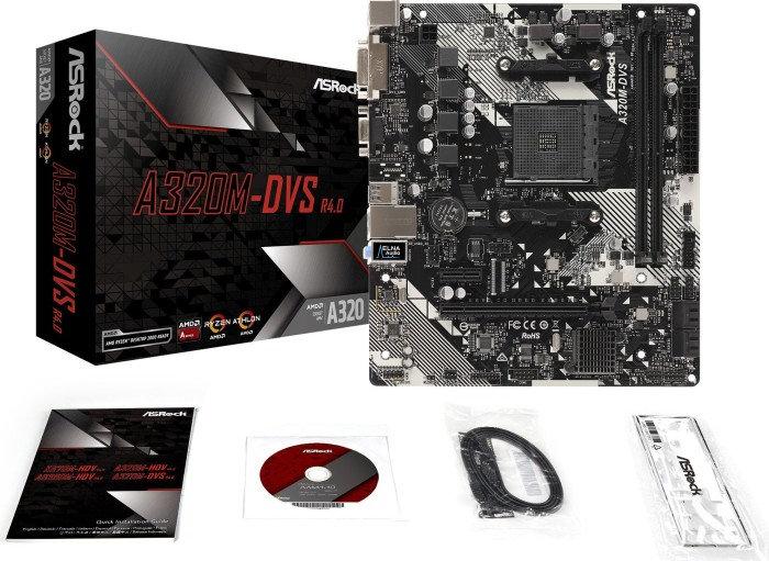 ASRock A320M-DVS R4.0 (90-MXB9M0-A0UAYZ)