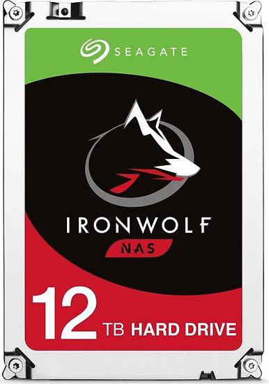 Seagate IronWolf NAS HDD 12TB, SATA 6Gb/s (ST12000VN0008)