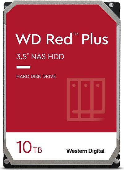 Western Digital WD Red Plus 10TB, SATA 6Gb/s (WD101EFBX)