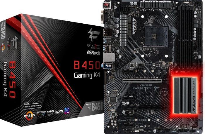 ASRock Fatal1ty B450 Gaming K4 (90-MXB8A0-A0UAYZ)