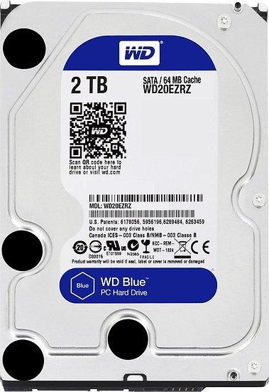 Western Digital WD Blue 2TB, SATA 6Gb/s (WD20EZRZ)