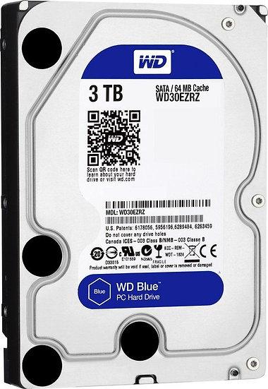 Western Digital WD Blue 3TB, SATA 6Gb/s (WD30EZRZ)