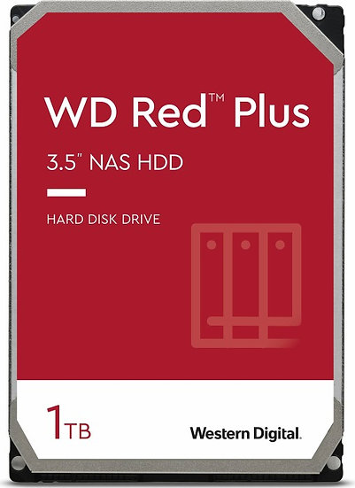 Western Digital WD Red Plus 1TB, SATA 6Gb/s (WD10EFRX)