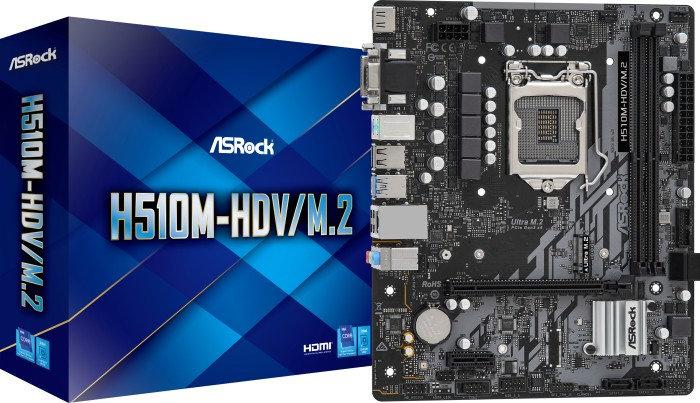 ASRock H510M-HDV/M.2 (90-MXBFT0-A0UAYZ)