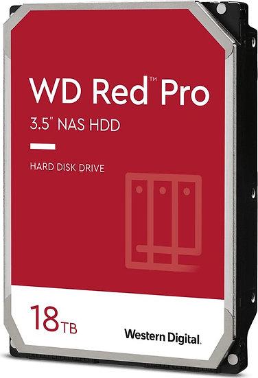Western Digital WD Red Pro 18TB, SATA 6Gb/s (WD181KFGX)