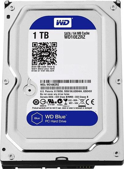 Western Digital WD Blue 1TB, SATA 6Gb/s (WD10EZRZ)