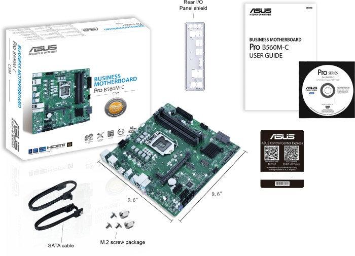 ASUS Pro B560M-C/CSM (90MB1720-M0EAYC)