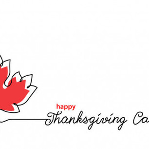 Happy Thanksgiving Canada !!