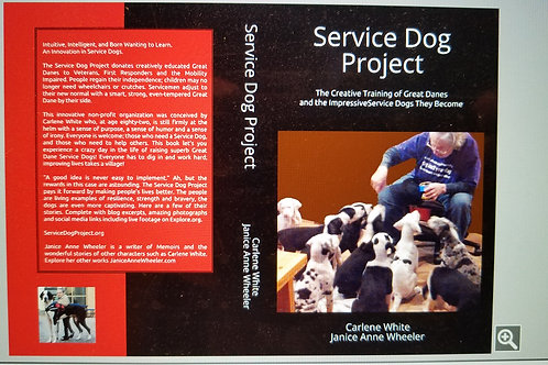 Book: Service Dog Project: The Creative Training of Great Danes