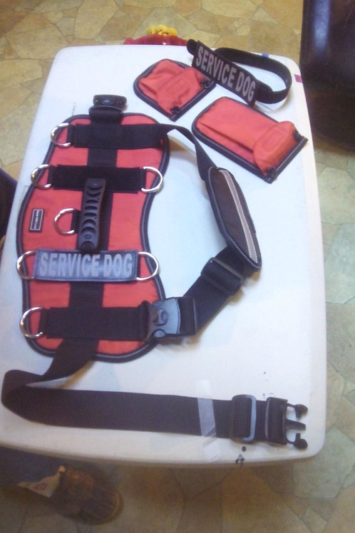 Dog Vests, Red or Blue, $25.00 plus $7.00 shipping