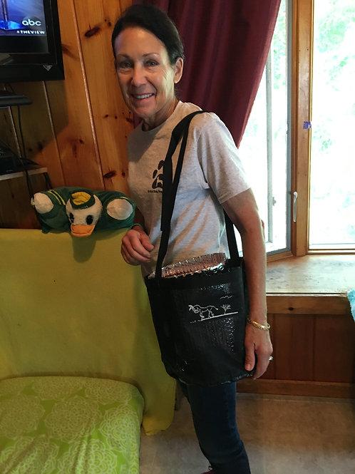 SDP Mesh Equine Feed Bag, Long handle