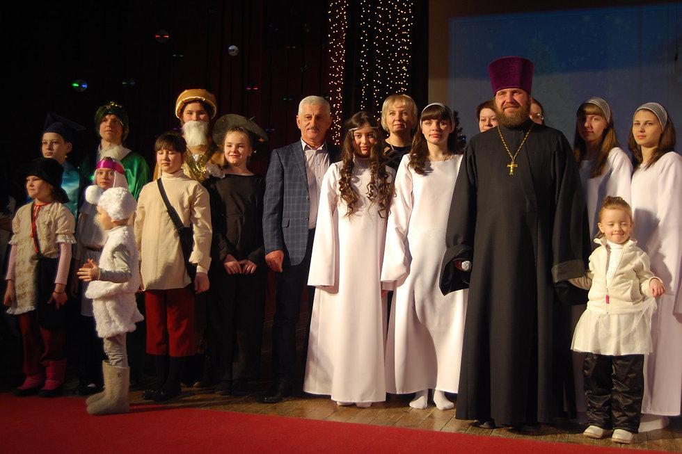Рождественский концерт 2016г
