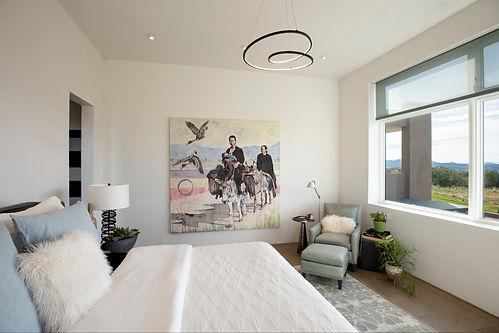 Bernstein Art Wall - Main Bedroom - LA-1