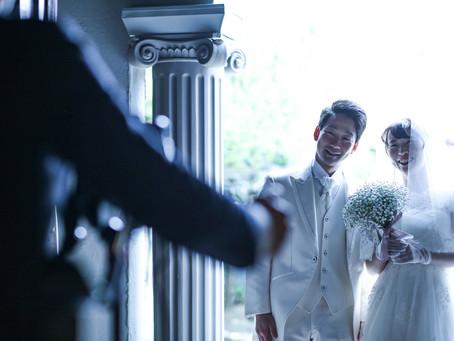 本日の結婚式