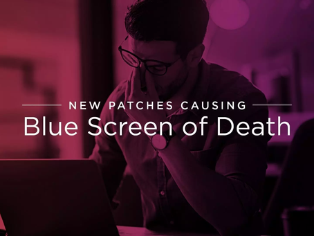 Microsoft Confirms New Blue Screen of Death (BSOD) Crashes