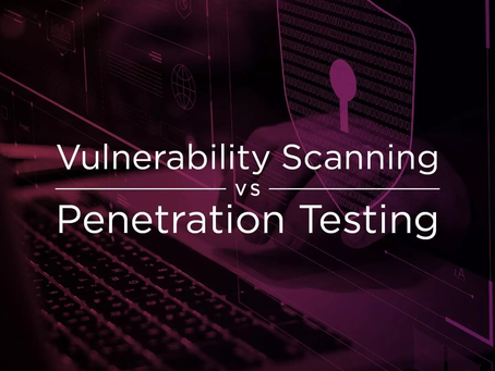 Vulnerability Scanning vs. Penetration Testing: What's the Difference?