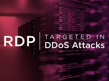 Windows RDP Servers Targeted In DDoS Attacks