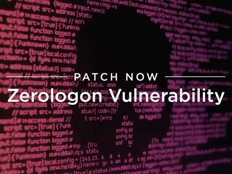 Patch Now: Zerologon Vulnerability Being Weaponized
